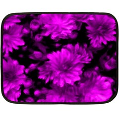 Phenomenal Blossoms Hot  Pink Double Sided Fleece Blanket (mini)