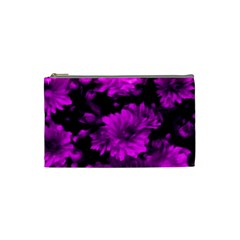Phenomenal Blossoms Hot  Pink Cosmetic Bag (small)