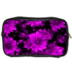 Phenomenal Blossoms Hot  Pink Toiletries Bags
