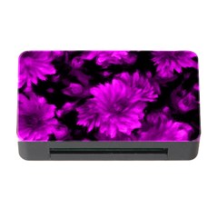 Phenomenal Blossoms Hot  Pink Memory Card Reader with CF