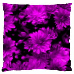 Phenomenal Blossoms Hot  Pink Large Cushion Cases (two Sides)