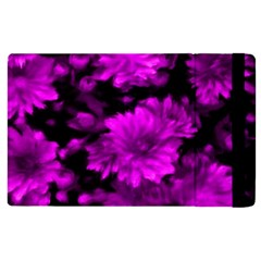 Phenomenal Blossoms Hot  Pink Apple Ipad 3/4 Flip Case