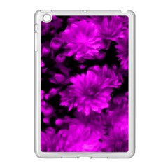 Phenomenal Blossoms Hot  Pink Apple Ipad Mini Case (white)