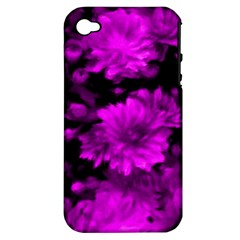 Phenomenal Blossoms Hot  Pink Apple Iphone 4/4s Hardshell Case (pc+silicone)