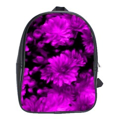 Phenomenal Blossoms Hot  Pink School Bags (xl)  by MoreColorsinLife