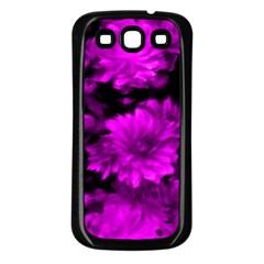 Phenomenal Blossoms Hot  Pink Samsung Galaxy S3 Back Case (black)