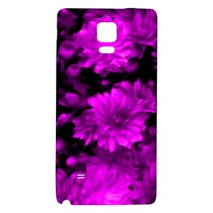 Phenomenal Blossoms Hot  Pink Galaxy Note 4 Back Case by MoreColorsinLife