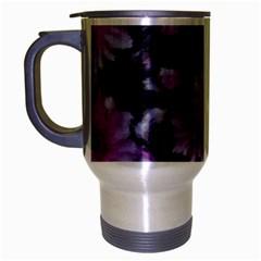 Phenomenal Blossoms Lilac Travel Mug (silver Gray)