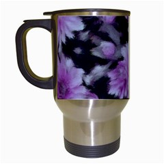 Phenomenal Blossoms Lilac Travel Mugs (white)