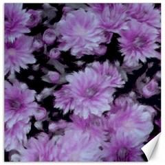 Phenomenal Blossoms Lilac Canvas 12  X 12