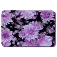 Phenomenal Blossoms Lilac Large Doormat  by MoreColorsinLife