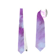 Phenomenal Blossoms Lilac Neckties (one Side)