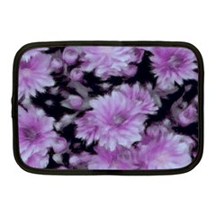 Phenomenal Blossoms Lilac Netbook Case (medium)  by MoreColorsinLife