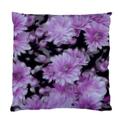 Phenomenal Blossoms Lilac Standard Cushion Case (one Side)