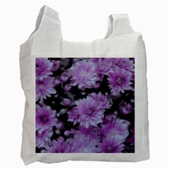 Phenomenal Blossoms Lilac Recycle Bag (one Side)