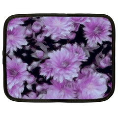 Phenomenal Blossoms Lilac Netbook Case (xl)  by MoreColorsinLife