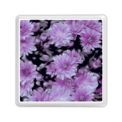 Phenomenal Blossoms Lilac Memory Card Reader (square)