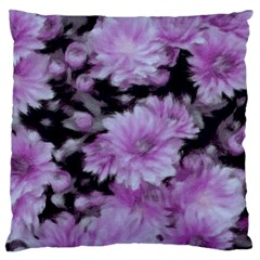 Phenomenal Blossoms Lilac Large Cushion Cases (two Sides)