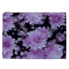 Phenomenal Blossoms Lilac Cosmetic Bag (xxl)  by MoreColorsinLife