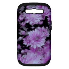 Phenomenal Blossoms Lilac Samsung Galaxy S Iii Hardshell Case (pc+silicone)
