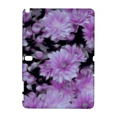Phenomenal Blossoms Lilac Samsung Galaxy Note 10 1 (p600) Hardshell Case by MoreColorsinLife