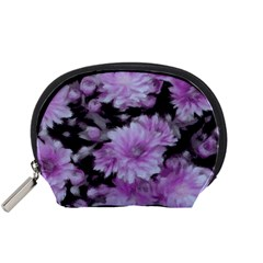 Phenomenal Blossoms Lilac Accessory Pouches (small)  by MoreColorsinLife