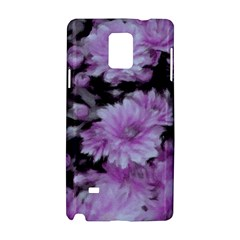 Phenomenal Blossoms Lilac Samsung Galaxy Note 4 Hardshell Case by MoreColorsinLife