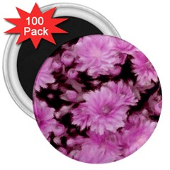 Phenomenal Blossoms Pink 3  Magnets (100 Pack) by MoreColorsinLife