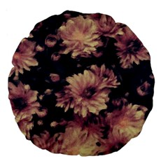 Phenomenal Blossoms Soft Large 18  Premium Flano Round Cushions