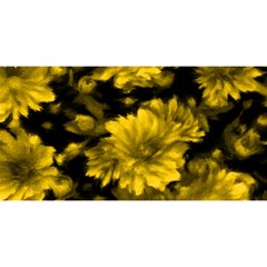 Phenomenal Blossoms Yellow You Are Invited 3d Greeting Card (8x4)