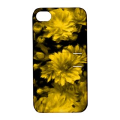 Phenomenal Blossoms Yellow Apple Iphone 4/4s Hardshell Case With Stand by MoreColorsinLife