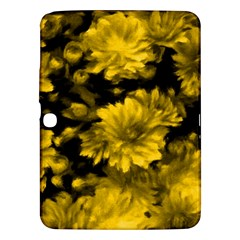 Phenomenal Blossoms Yellow Samsung Galaxy Tab 3 (10.1 ) P5200 Hardshell Case  by MoreColorsinLife