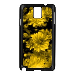 Phenomenal Blossoms Yellow Samsung Galaxy Note 3 N9005 Case (black)