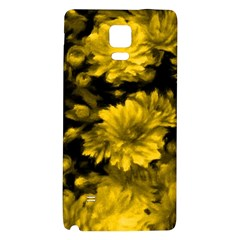 Phenomenal Blossoms Yellow Galaxy Note 4 Back Case by MoreColorsinLife