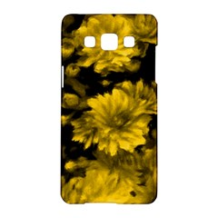 Phenomenal Blossoms Yellow Samsung Galaxy A5 Hardshell Case  by MoreColorsinLife