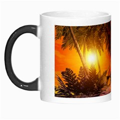 Wonderful Sunset In  A Fantasy World Morph Mugs by FantasyWorld7