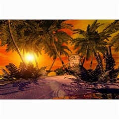 Wonderful Sunset In  A Fantasy World Collage 12  X 18  by FantasyWorld7