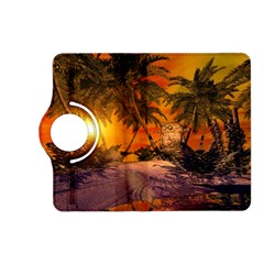 Wonderful Sunset In  A Fantasy World Kindle Fire HD (2013) Flip 360 Case