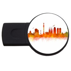 Barcelona 02 Usb Flash Drive Round (2 Gb)  by hqphoto