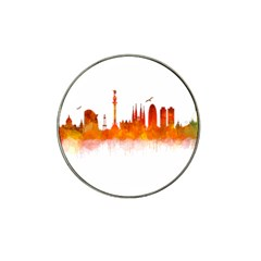 Barcelona 02 Hat Clip Ball Marker (4 Pack) by hqphoto