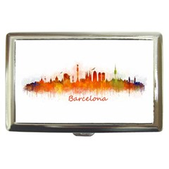 Barcelona City Art Cigarette Money Cases by hqphoto