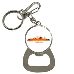 Barcelona City Art Bottle Opener Key Chains by hqphoto