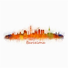 Barcelona City Art Collage 12  X 18  by hqphoto