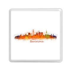 Barcelona City Art Memory Card Reader (square)  by hqphoto