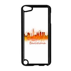 Barcelona City Art Apple Ipod Touch 5 Case (black) by hqphoto