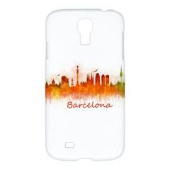 Barcelona City Art Samsung Galaxy S4 I9500/i9505 Hardshell Case by hqphoto