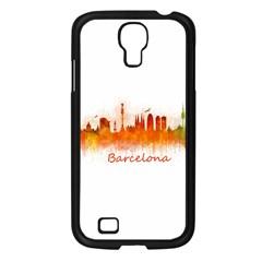 Barcelona City Art Samsung Galaxy S4 I9500/ I9505 Case (black) by hqphoto