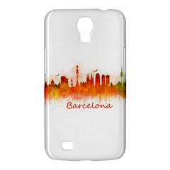 Barcelona City Art Samsung Galaxy Mega 6 3  I9200 Hardshell Case by hqphoto