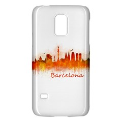 Barcelona City Art Galaxy S5 Mini by hqphoto