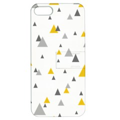Pastel Random Triangles Modern Pattern Apple Iphone 5 Hardshell Case With Stand